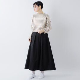 SAINT JAMES|厚手コットン ボートネックカットソー ouessant-ms
