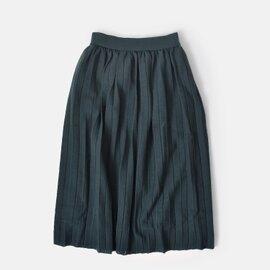 SONO|ニットプリーツロングスカート s185km032-yn