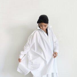 ichi|ONLINE限定 CLEANSE Broad Big Shirt
