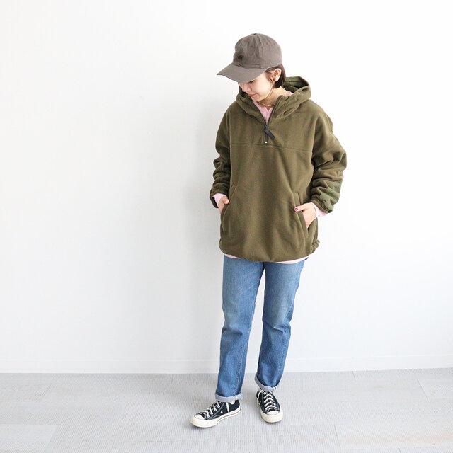 オリーブ / メンズS 着用、モデル身長:167cm