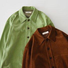 unfil|シャンカール コットン コーデュロイ シャツ ジャケット shankar cotton-corduroy shirt jacket WOFL-UM-108 アンフィル