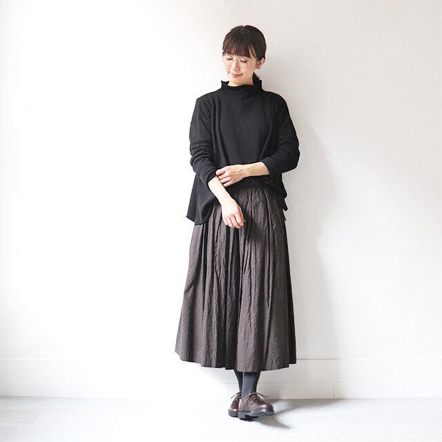 ブラック 着用、モデル身長:167cm