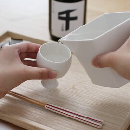 JICON|足付酒盃 すぼみ/菱形注器