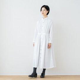 TUTIE. コットンサークルドビーウエスト切替ワンピース