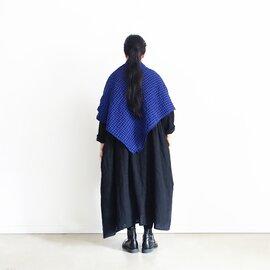 ichi Antiquités|Cotton Wool Gingham Stole