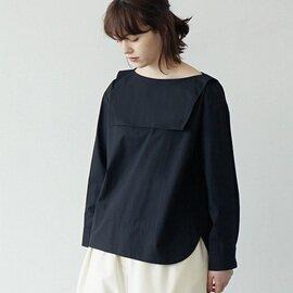 Mochi sailor blouse (black)