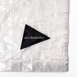 and wander|キューベンファイバースタッフサック aw-aa986-yn