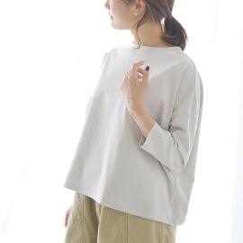 NARU|ワイドシルエットドロップショルダーカットソーTシャツ長袖・628220 ナル