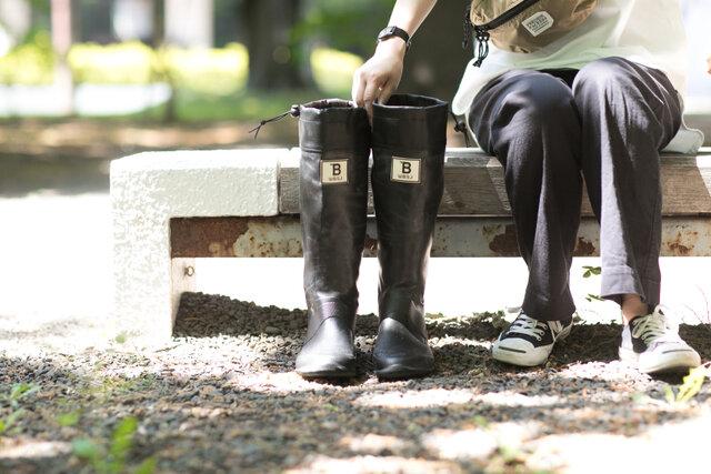 日本野鳥の会 | バードウォッチング長靴 (限定色)