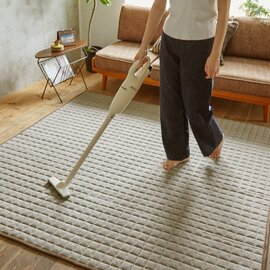 スミノエ|洗えるラグ ミックスニット〈床暖対応〉