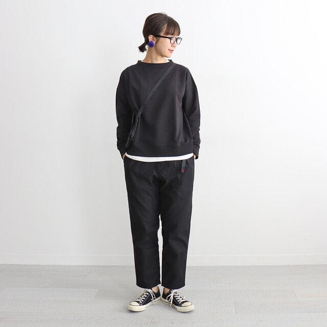 ブラック / S 着用、モデル身長:167cm