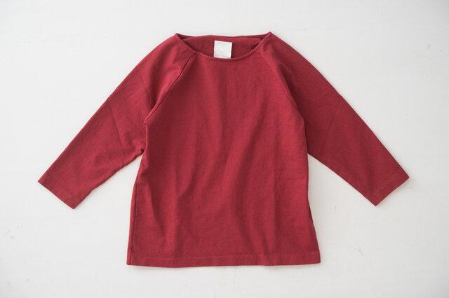 ■赤 2018年に追加された赤いパンT。店主ヒラタお気に入りの写真集があり、背表紙のカラーのようなパンTを作りたい!という思いから誕生しました。合成染料で染めていますので、色落ちはさほどありません。
