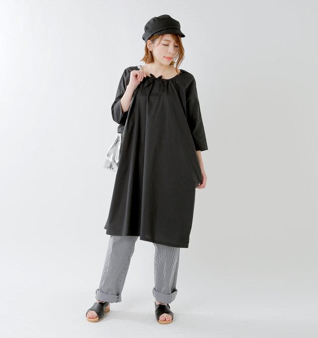 model mei:165cm / 50kg color : black check / size : M