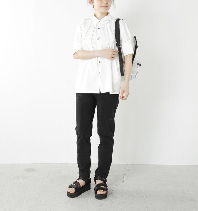 model yama:167cm / 49kg color : black / size : L