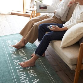 スミノエ|洗えるラグ ネスタ〈床暖対応〉