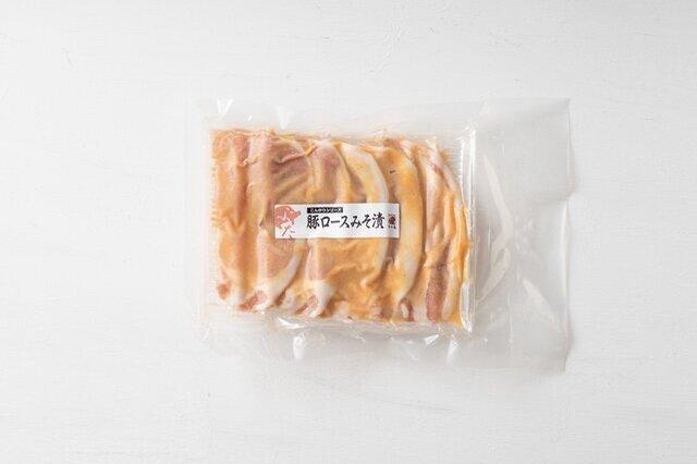 国産の豚肉を1枚1枚、すや亀の「門前みそ」で包んで程よい味噌味に。5枚入り