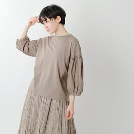 Gauze# コットンパフスリーブTシャツ g608-fn【21ss】