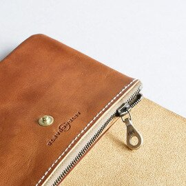 ARTS&CRAFTS|ELBAMATT GE FLAP ZIP PURSE S