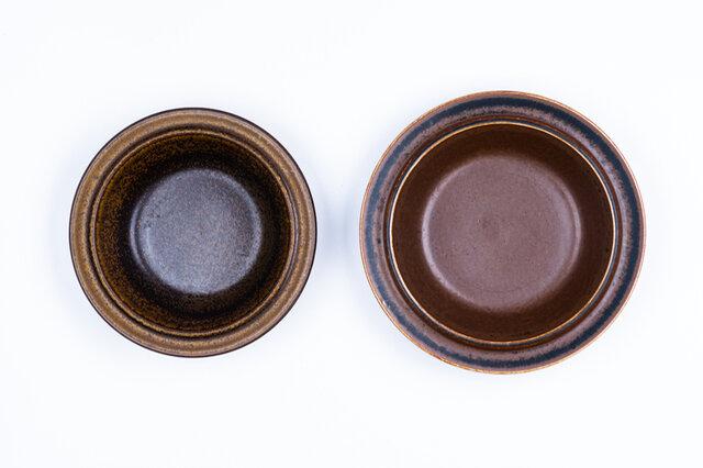左から、小(直径17.5cm)、大(19.5cm)