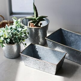 HERE|Galvanized Plant Cover