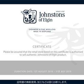 Johnstons|カシミヤチェック柄ストール・WA000057 ジョンストンズ