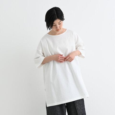 TUTIE. シルケットミニ裏毛ワイドチュニック