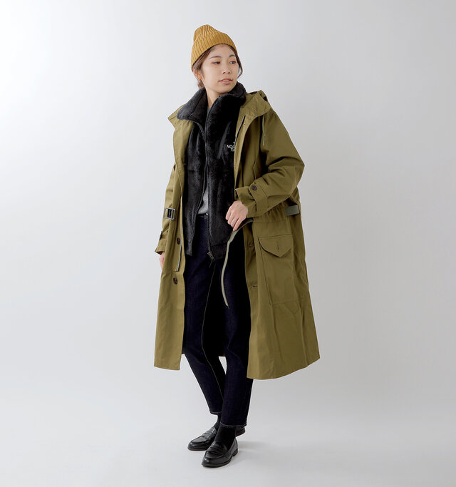 model hikari:165cm / 48kg color : black / size : S