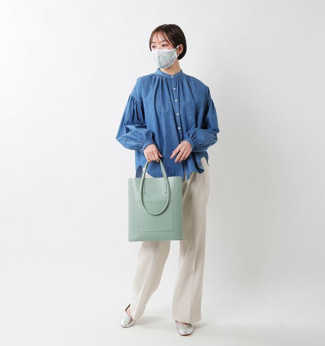 model saku 163cm/43kg color:marga blue  size:one