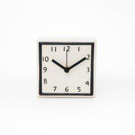 陶器の時計(SQUARE/ROUND)