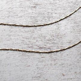 "Joli&Micare|""5Rings long Necklace"" fir0105-mm"