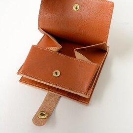 IL BISONTE レザー二つ折りウォレット財布・412228・54192-3-05640 イルビゾンテ