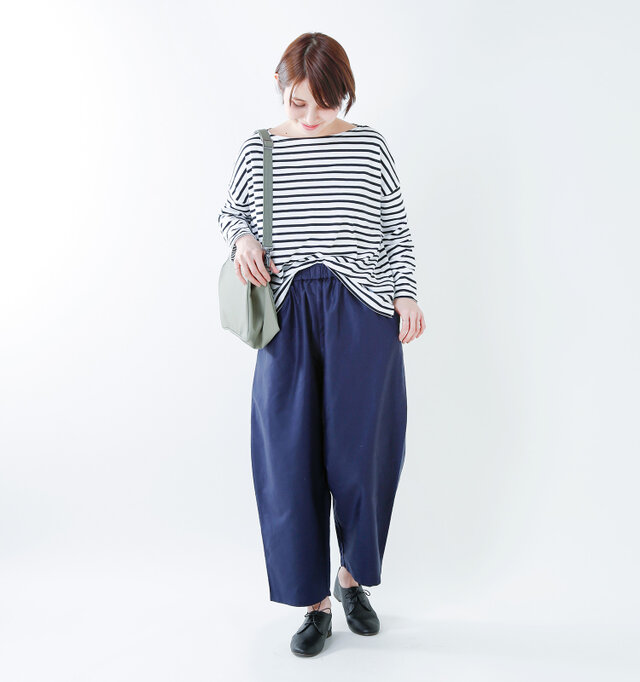 color : white×black / size : 1  しっかりと目の詰まったコットン素材の心地良い着用感をぜひ体験してください。