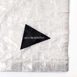 and wander キューベンファイバースタッフサック aw-aa986-yn