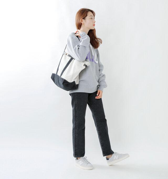 model mizuki:168cm / 50kg color : gray / size : 24.0cm