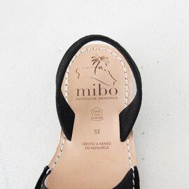mibo|オープントゥ バックストラップ フラット サンダル シューズ 347・340 ミボ