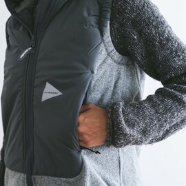 and wander|top fleece vest