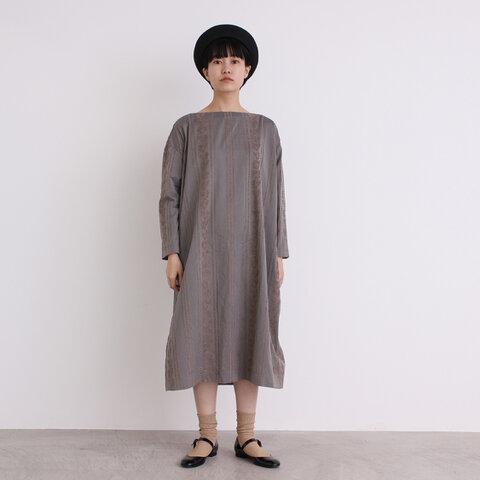 yuni|stripeジャガードwide ワンピース 1701OP053182