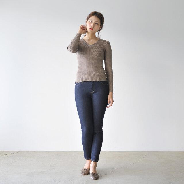 モデル:170cm / 54kg color : greige(col.12) / size : free