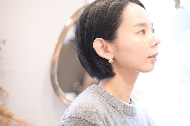 Ouca. | 小花パールピアス