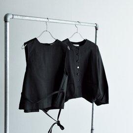 susuri|コットンノーカラーカイトジャケット 21-151
