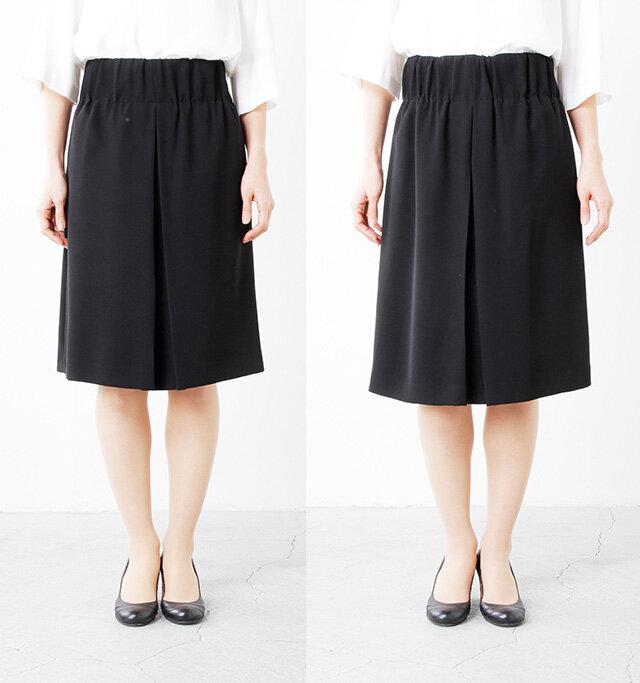 model yama:167cm / 49kg color : black / size : 左38 右40  サイズは38と40をご用意しています。袖丈や裾丈だけでなく、雰囲気も変わってくのでお好みのサイズをお選びください。  ※詳しいサイズはページ下のサイズ表をご確認ください。