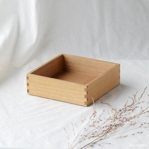 松屋漆器店│白木塗タモ[6寸]重箱・仕切り