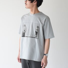 CAL O LINE フォト プリント Tシャツ MARIANNE AND MARYKAY SHORT SLEEVE TEE 半袖 CJW-010S キャル オー ライン