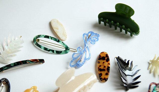 Picoのヘアアクセサリーは、種類がたくさん。他のデザインもお楽しみください。