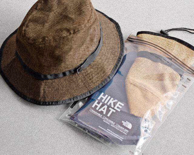 付属されているLOKSAK製の防水ケースは、帽子の収納以外でもアイデア次第で色々な用途にお使い頂けます。