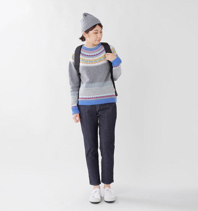 model hikari:165cm / 48kg color : dark used / size : M
