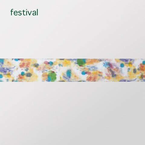 kaze no sumika|festival & swimmy・マスキングテープ【ゆうパケット対応】