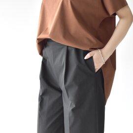 MARECHAL TERRE|ワイド スリットパンツ Wide Slit Pants ワンタック イージーパンツ ボトムス ZMT201PT303 マルシャル テル