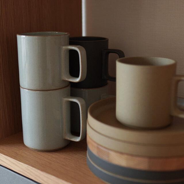 マグカップは2種類のサイズをご用意しております。