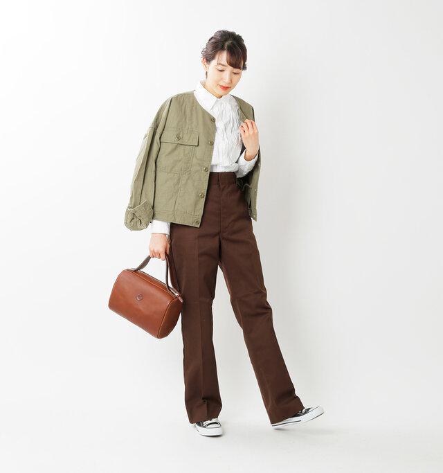 model mizuki:168cm / 50kg  color : brown / size : one